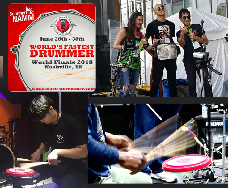 World's Fastest Drummer Website